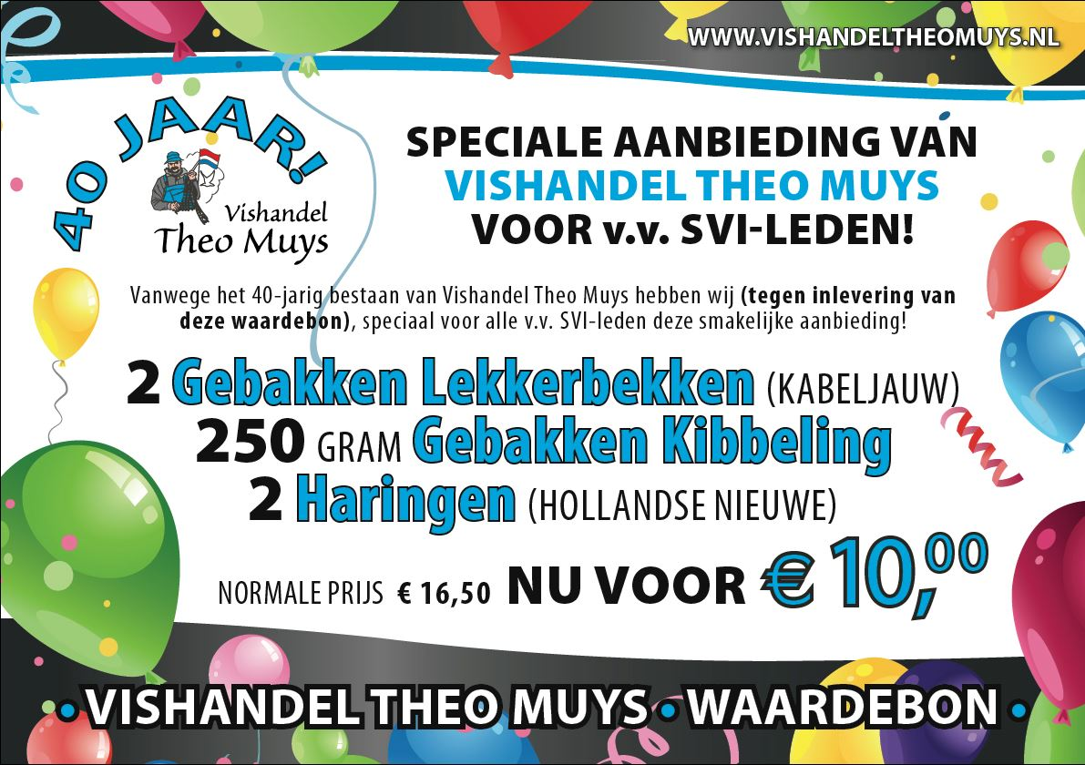 Aanbieding Vishandel Theo Muys!!!