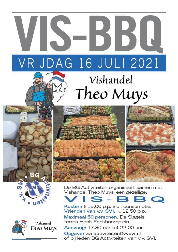Vis-BBQ vrijdag 16 juli - geef je snel op!